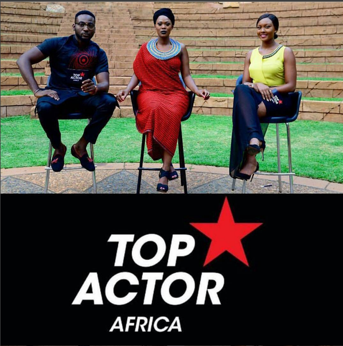 Celebrity Couple Gbenro And Osas Ajibade Appear As Guest Judges On BET Top Actor Africa As Kenya's Lorraine Gakuo  Gets Evicted.