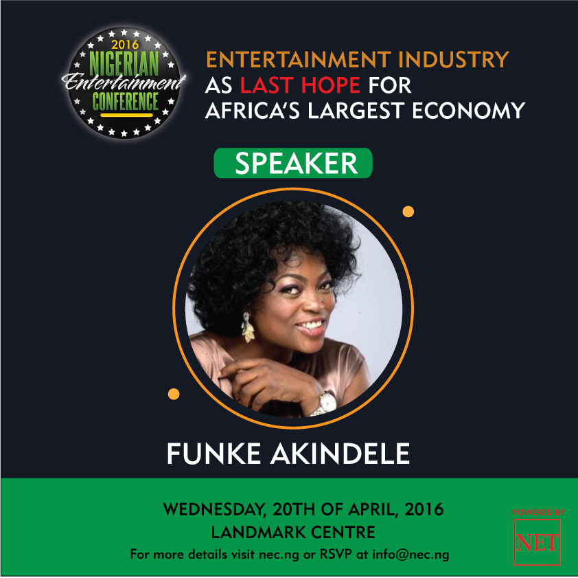 Funke Akindele To Make Major Debut At Nigerian Entertainment Conference