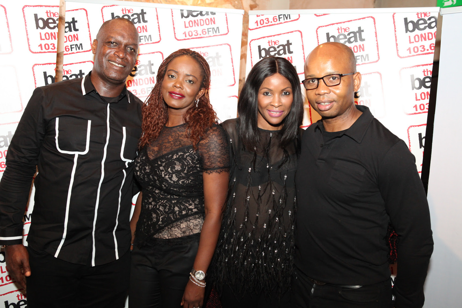 Uzoma Dozie, Alex Amosu, Deji Awokoya, DJ Cuppy, Toolz, Shiikane Join Chris Ubosi At The Beat London 103.6FM Launch Party