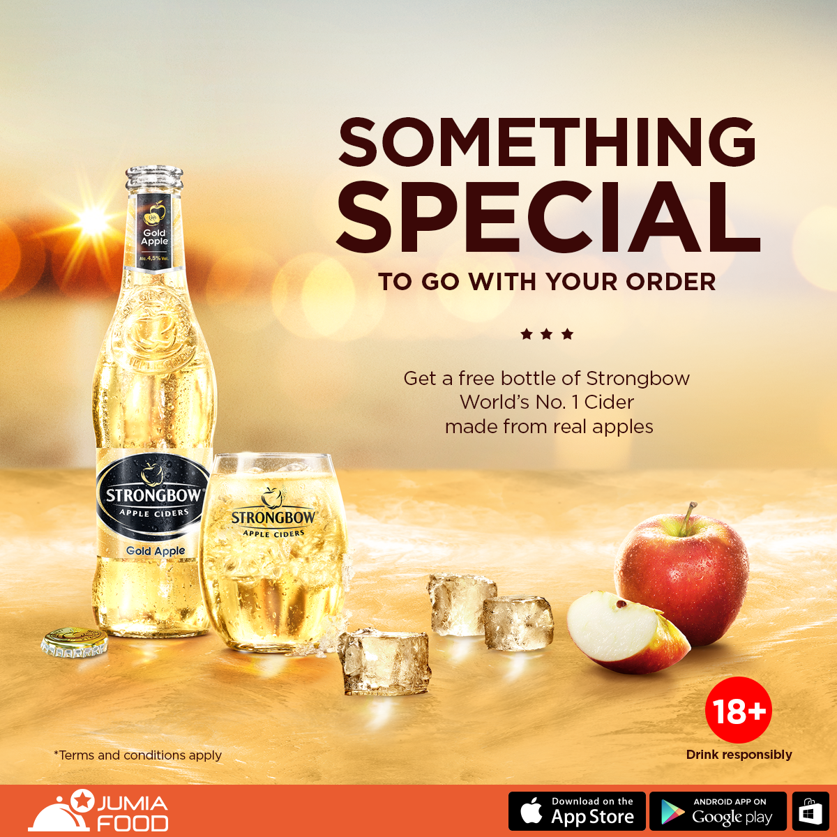 Strongbow Apple Ciders Rewards Consumers… Partners With Jumia Food
