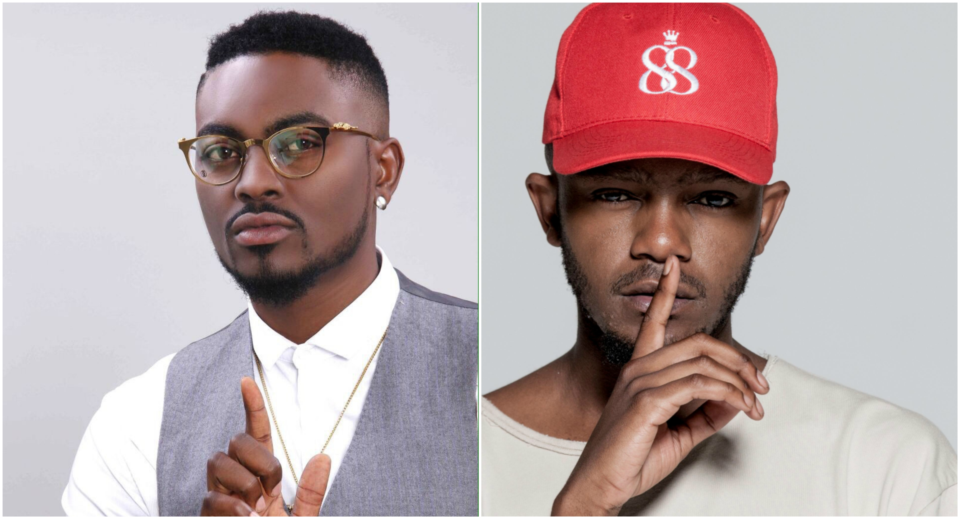 Bba Star Tayo Faniran Squares Up Against South African Rapper Kwesta On Lip Sync Battle Africa