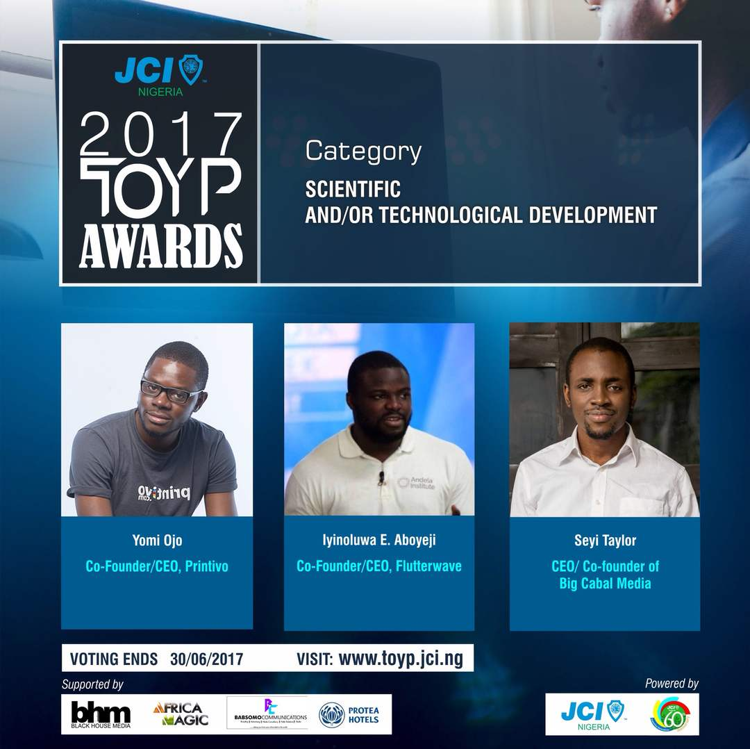 JCI Nigeria Announces Nominees For 'Ten Outstanding Young Persons' Awards As Voting Begins