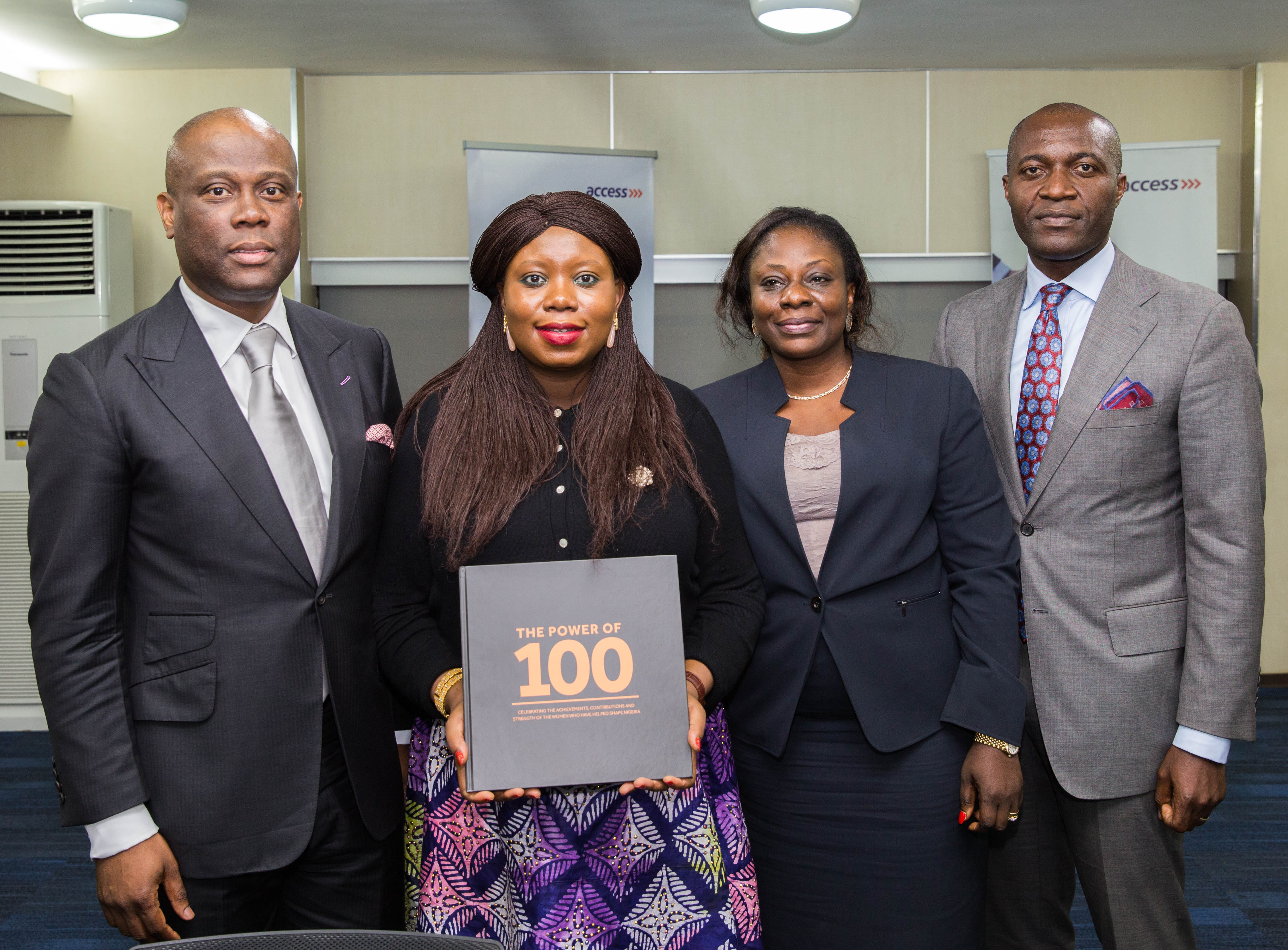 Access Bank Boss, Herbert Wigwe, With Unilag Students Host Delegates From Harvard And Mit In Lagos
