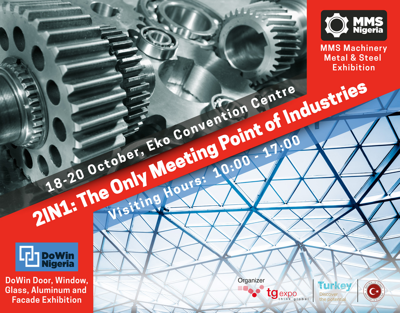 TG Expo To Hold Maiden Edition Of Machinery, Metal And Steel Exhibition In Nigeria