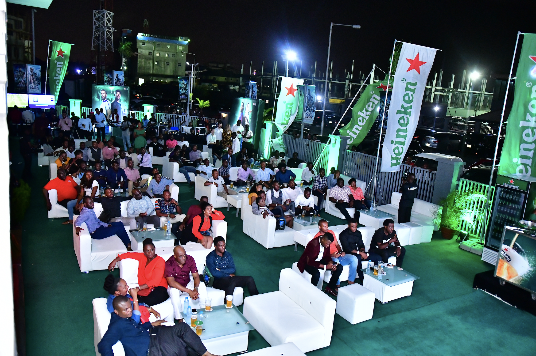Heineken Shares UEFA Champions League Drama With Lagos Fans On Valentine's Day