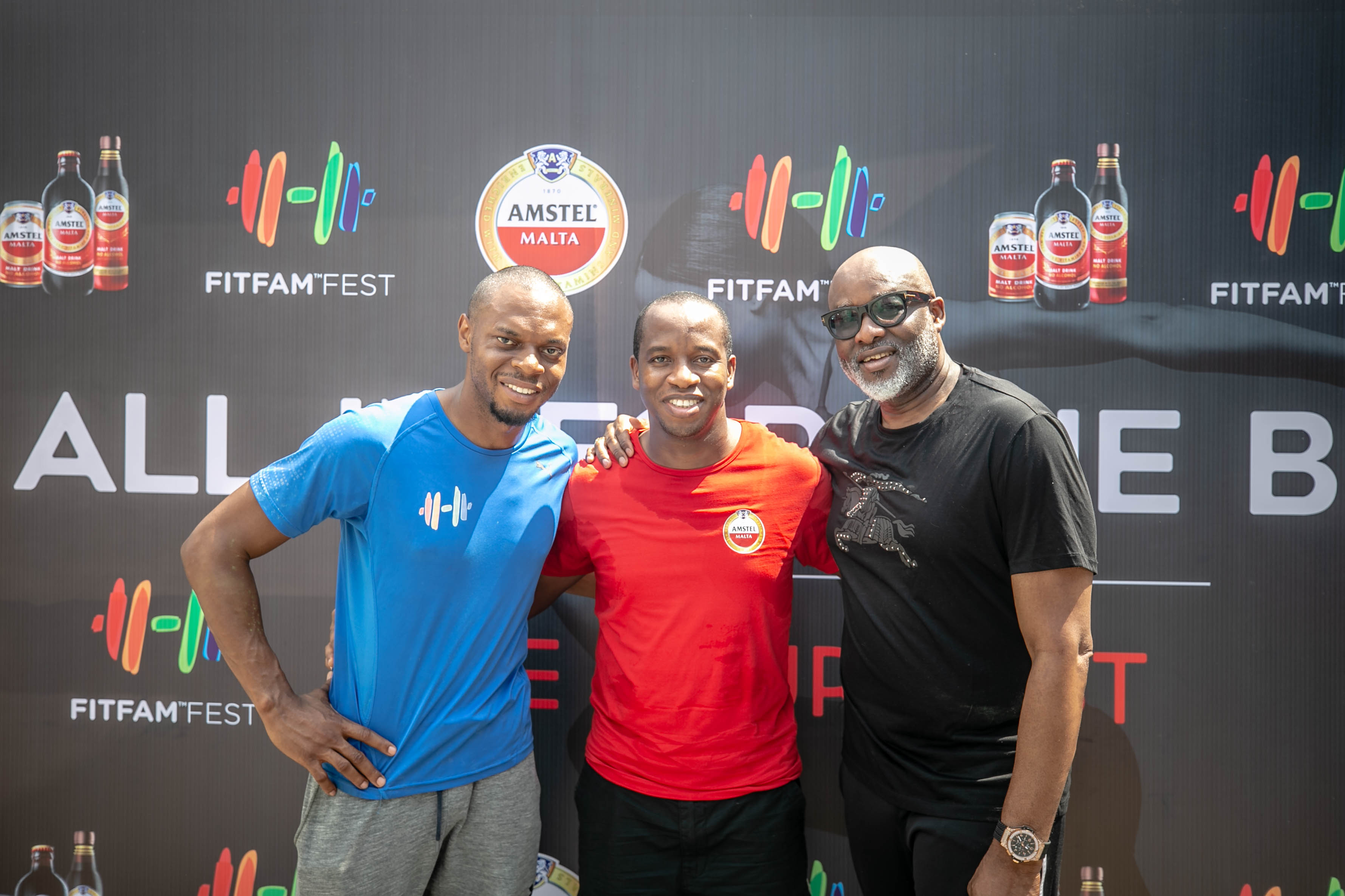 Amstel Malta Continues Drive For Healthier Nigeria With FitFam Fest 2018