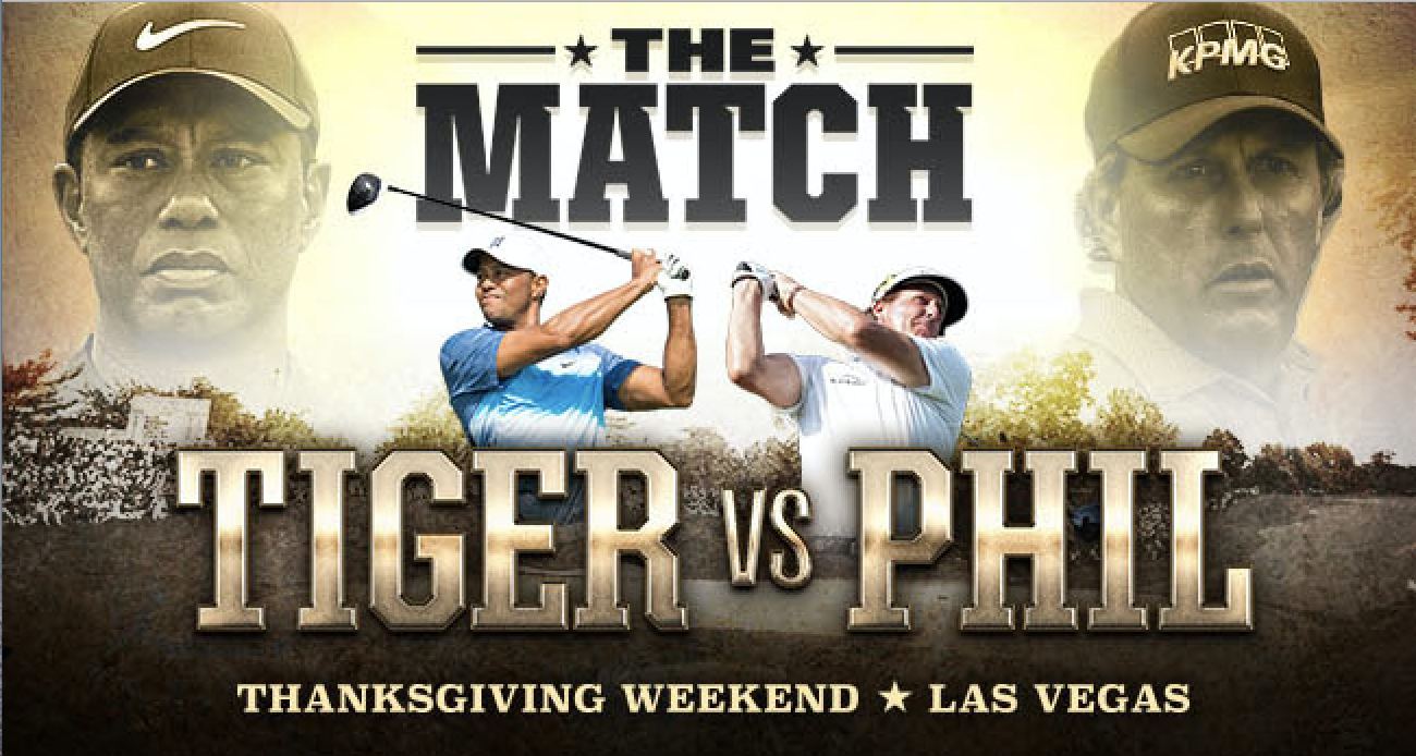 DStv brings Mega Millions Golf Clash between Tiger Woods and Phil Mickelson