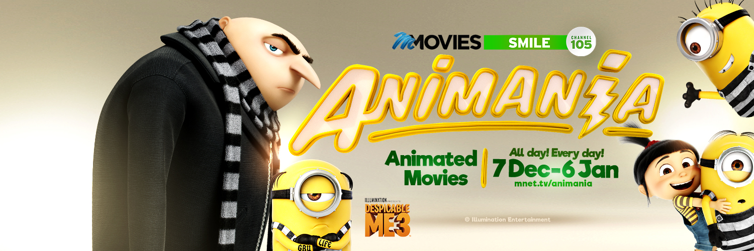 It's Animania time with M-Net Movies Smile This December