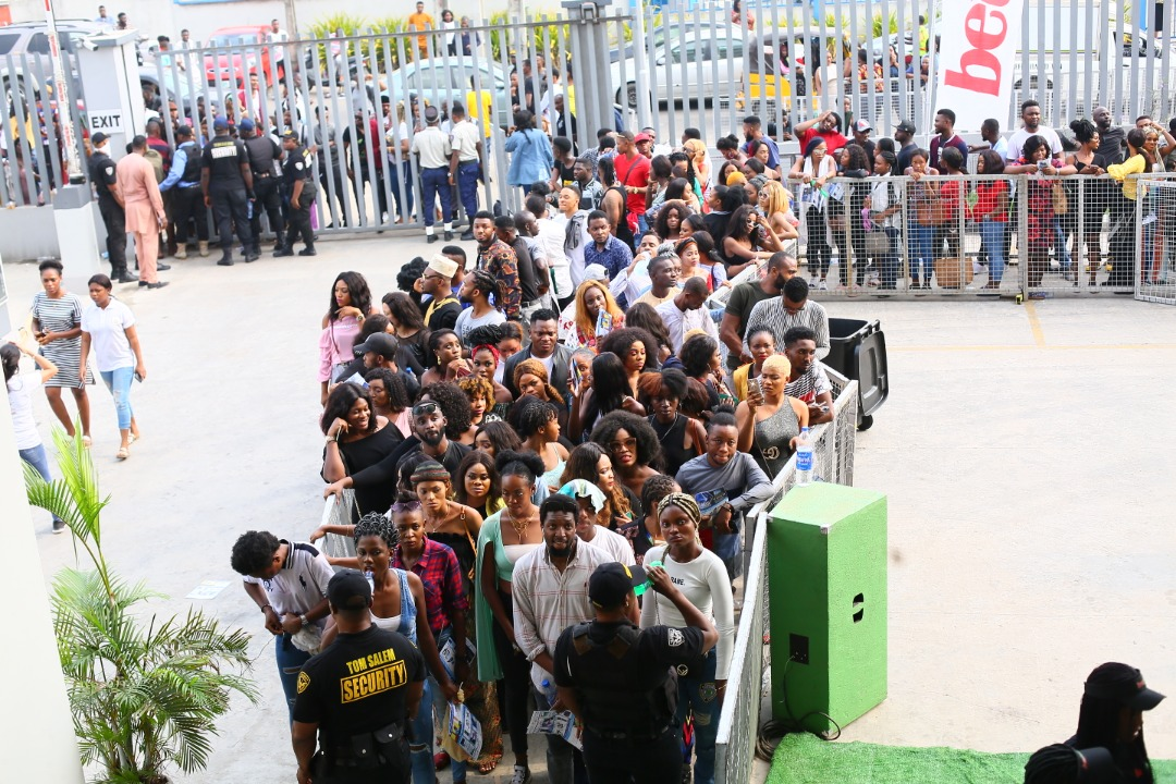 Nigeria stands still for BBNaija auditions