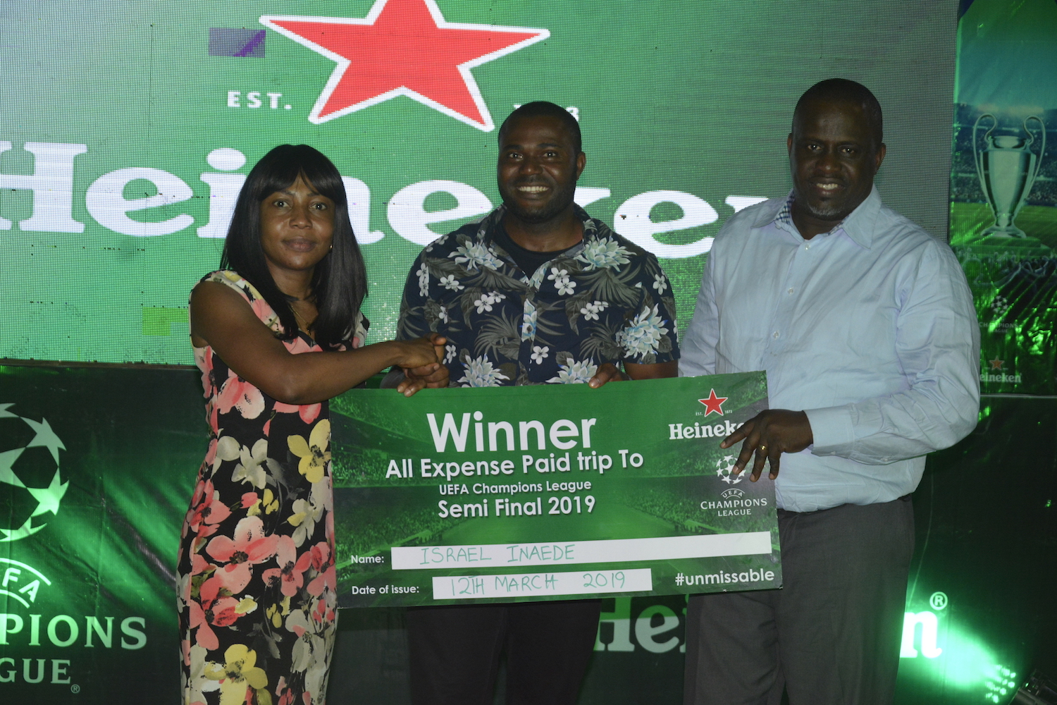 Heineken Shares UEFA Champions League Unmissable Moments With Football Fans In Port Harcourt And Enugu